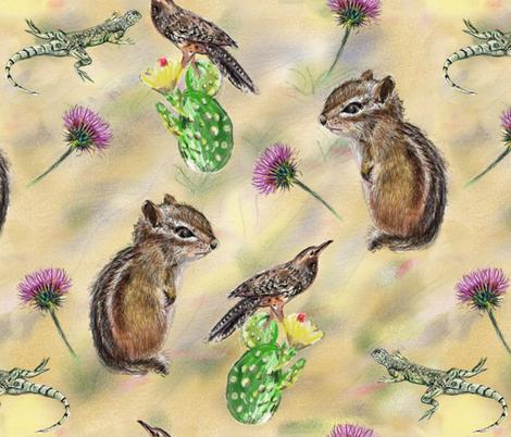 Desert Life fabric by 1103_dpl on Spoonflower - custom fabric