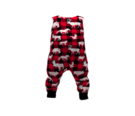 Cabin Buffalo Plaid Red Black