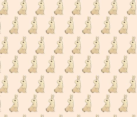 rabbit fabric by artistic_visual_designer on Spoonflower - custom fabric