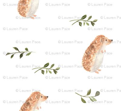 Curious Hedgehog Smaller Scale