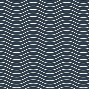 Waves on Biscay Blue