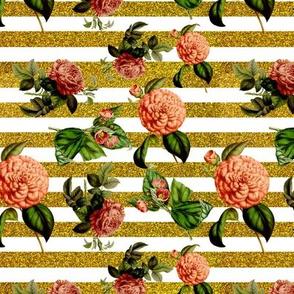 floral glitter