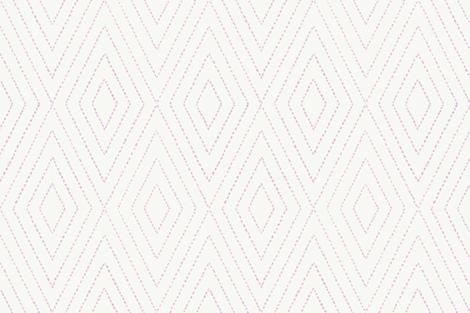 diamond_dash_painted in pink fabric by danikaherrick on Spoonflower - custom fabric