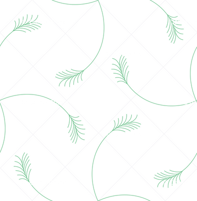 green wheat white grid
