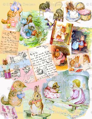 Beatrix Potter Beginnings, on Sugary Milk