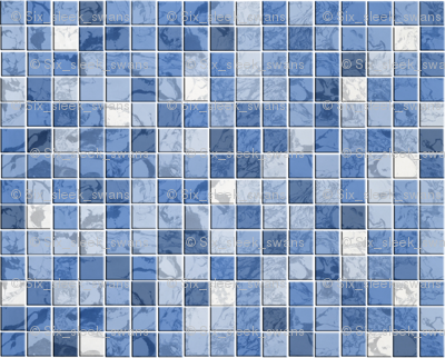 Once in a blue moon tiles