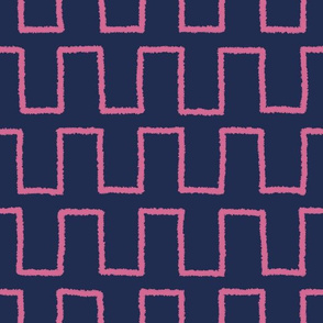 Stepped_magenta on navy