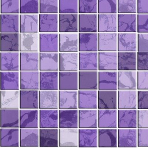 Pretty purple prose tiles