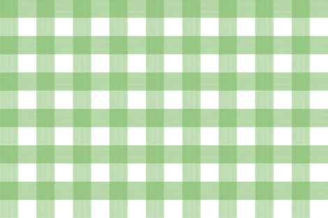 "Spring Green Medium 3"" Buffalo Plaid  fabric by danika_herrick on Spoonflower - custom fabric"