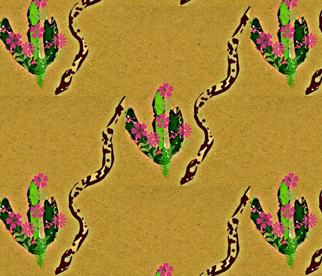 The Desert Is Alive fabric by menny on Spoonflower - custom fabric