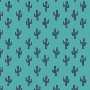 cacti on green