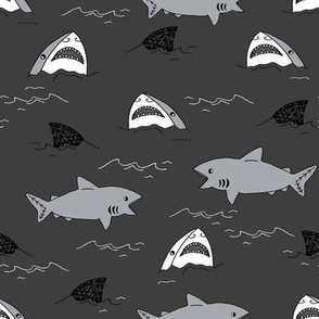 shark attack charcoal sharks summer shark infested waters