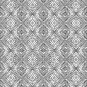 Light Grey Diamond Brocade