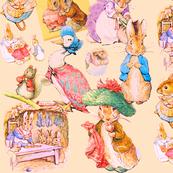 Potter Pastiche in pale blush
