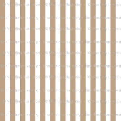 pinstripes vertical tan