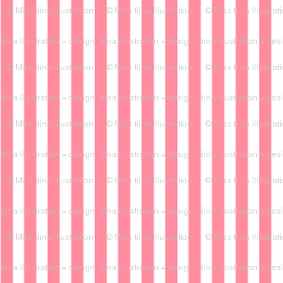 pinstripes vertical pretty pink
