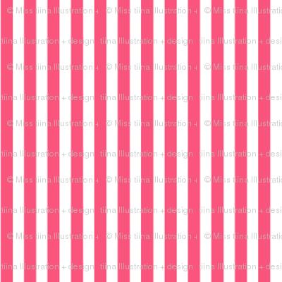 pinstripes vertical hot pink