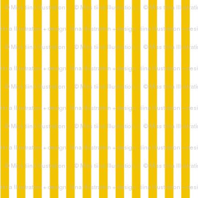 pinstripes vertical mustard yellow