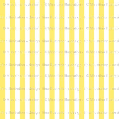 pinstripes vertical lemon yellow
