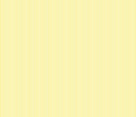 pinstripes vertical lemon yellow fabric by misstiina on Spoonflower - custom fabric