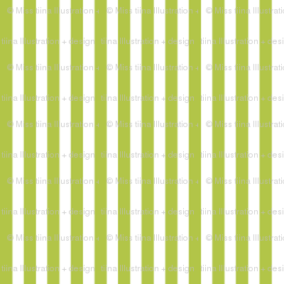 pinstripes vertical lime green