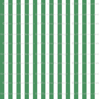 pinstripes vertical kelly green