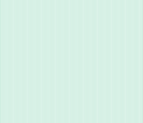 pinstripes vertical mint green fabric by misstiina on Spoonflower - custom fabric