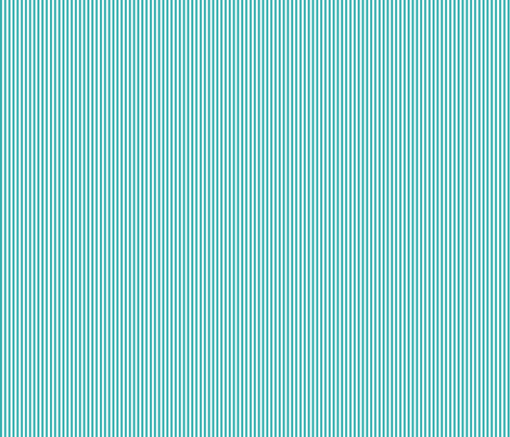 pinstripes vertical teal fabric by misstiina on Spoonflower - custom fabric