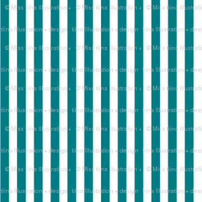 pinstripes vertical dark teal