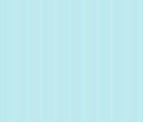 pinstripes vertical sky blue fabric by misstiina on Spoonflower - custom fabric