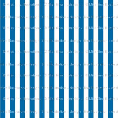 pinstripes vertical royal blue