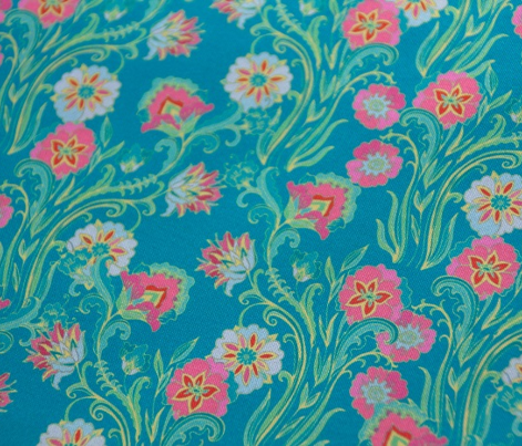 Stylised floral pattern
