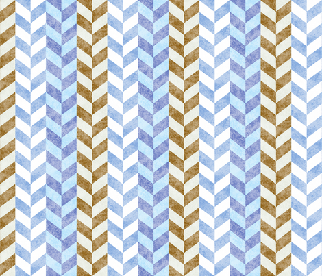 Braided Faded Denim Tan 150 fabric by kadyson on Spoonflower - custom fabric