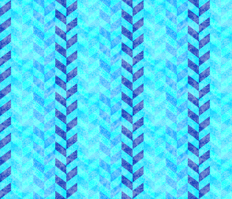 Braided Turquoise Blues 150 fabric by kadyson on Spoonflower - custom fabric