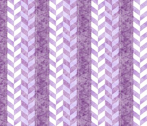 Braided Plum Tapa 150 fabric by kadyson on Spoonflower - custom fabric