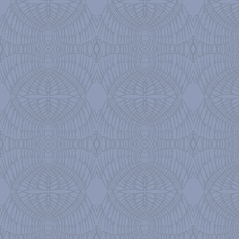 World Web (Gray on Purple Gray) fabric by belovedsycamore on Spoonflower - custom fabric