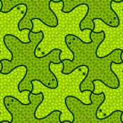 lizard 4X : lush rainforest green