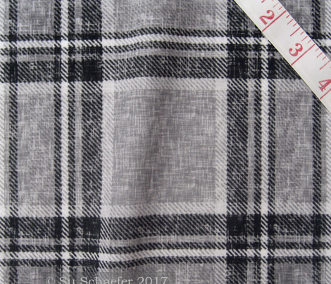 Grayscale Stewart Plaid by Su_G_©SuSchaefer