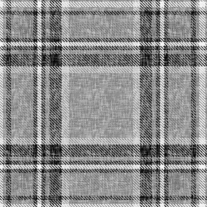 Grayscale Stewart Plaid by Su_G