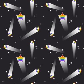 Pride Stars - Gay/Lesbian Rainbow