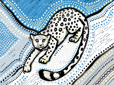 Snow Leopard ogee