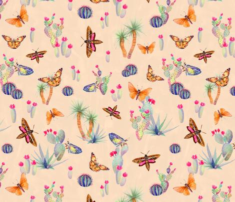 Desert Spirit fabric by katebillingsley on Spoonflower - custom fabric