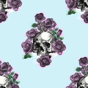 Messy Skull Print