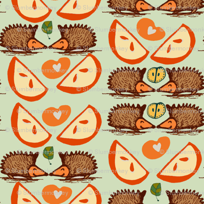 Hedgehogs and Apples.