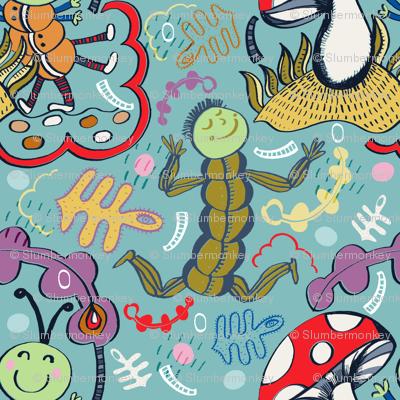 Happy Mini Monsters