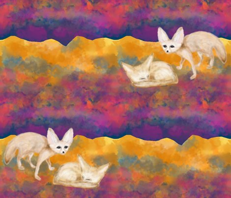 Rrsand_foxes_in_the_desert_at_night_sahara_fennec_fat_quarter_by_paysmage_shop_preview