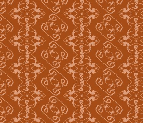 Dangerous Desert Damask fabric by pattern_junkie on Spoonflower - custom fabric