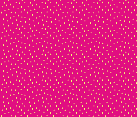 SEEDS PINK fabric by minkypnoo on Spoonflower - custom fabric