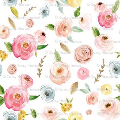 Blush Pinks & Pastels Floral