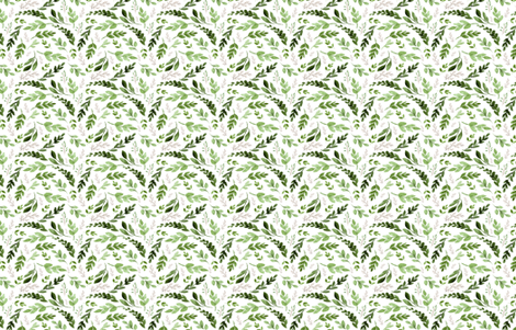 leaves fabric by hudsondesigncompany on Spoonflower - custom fabric